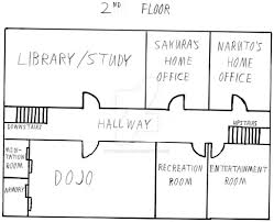 narusaku family house floorplan floor 2 by thesaiyanjedi on deviantart