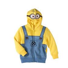 minion costume despicable me boys minion costume hoodie walmart