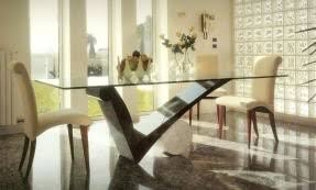 Table With 6 Chairs Glass Round Dining Table For 6 Foter