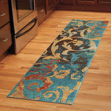 Kitchen Collection Outlet Store by Orian Rugs Watercolor Scroll Multi Colored Area Rug Or Runner