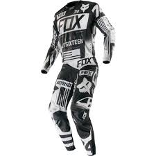 motocross jersey printing fox racing 2016 flexair union jersey and pant package black
