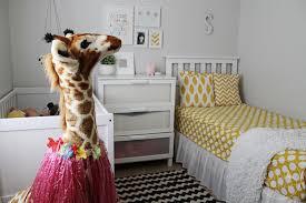 cinsarah as is home tour bedrooms the giraffe got a hula skirt sarah s bedding changed