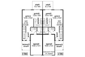 Multi Family Home Designs Duplex House Plans Free Download Modern Designs Floor Cubtab Floor