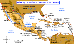 map central mexico history 451