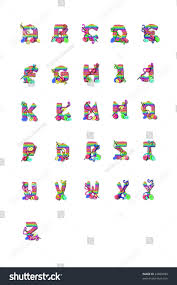 alphabet letters z shaped out knitting stock illustration 42898993
