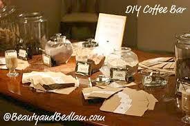 Coffee Bar Table Coffee Bar For Parties Weddings