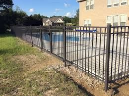fence design tubular pool fence installers delighful cheap with