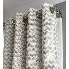 Gray Chevron Curtains Crate And Barrel Curtain Rods Eyelet Curtain Curtain Ideas
