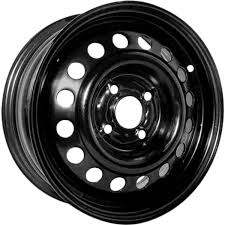 black subaru rims steel wheels