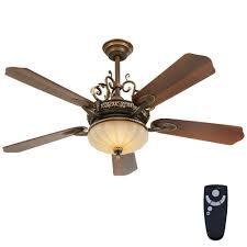 decorative fans home decorators collection chateau 52 in integrated led