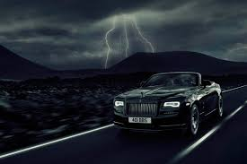 rolls royce wraith headliner dark night rises rolls royce dawn black badge revealed at