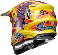 motocross helmet closeout shoei vfx w barcia moto off road helmet closeout ebay