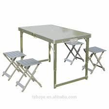 aluminum folding picnic table with umbrella aluminum folding