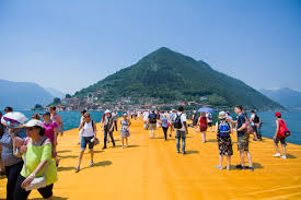 Floating Piers by File Iseo Floating Piers 2 Jpg Wikimedia Commons