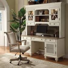 Computer Hutch Desk With Doors Corner Desks With Hutch For Home Office Foter