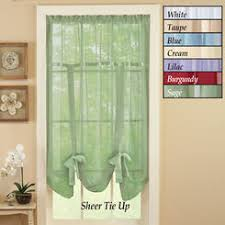Tie Up Curtains Tie Up Curtain