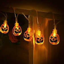 pumpkin lights string lights yunlights 13ft 30 led