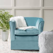 Reclining Swivel Chairs For Living Room by Furniture Sweet Swivel Barrel Chairs Designs For Inviting Living