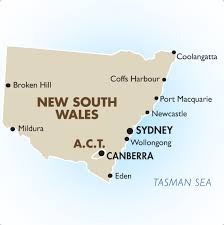 map of new south wales new south wales australia australia vacations 2018 19 goway