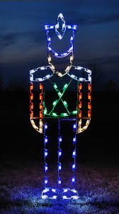 Lighted Outdoor Christmas Decorations by Outdoor Light Category