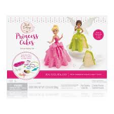 princess cakes real cooking princess cakes deluxe baking set walmart
