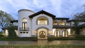 decor elegant spanish style homes with arched wntrance and window