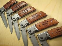 Knives For Groomsmen 71 Best Personalized Engraved Gifts For A Groomsman Best Man
