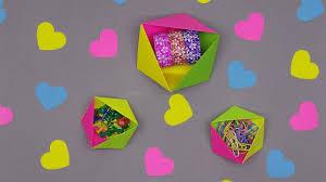 Origami Desk Organizer Diy Folding Geometric Origami Boxes Desk Organizer Easy Paper
