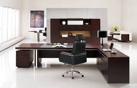 Modern Executive Desk Sets Professional Office Desk Sleek Modern Executive Company Intended