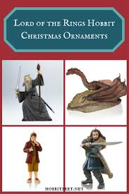 of the rings hobbit christmas ornaments