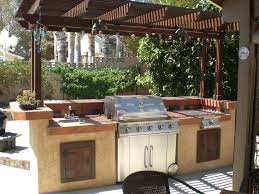 outside kitchen design ideas exterior paver outdoor kitchen modern 2017 design ideas