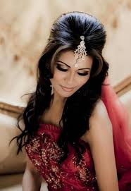 gorgeous indian wedding long hairstyles kavita mohan