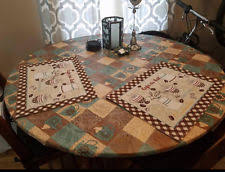 elastic vinyl table covers round table cover home garden ebay