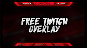 free twitch overlay template psd free download free gfx youtube