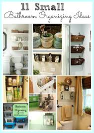 11 fantastic small bathroom organizing ideas - Small Bathroom Organizing Ideas