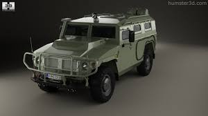 gaz tigr 360 view of gaz tiger m 2011 3d model hum3d store