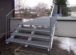 treppen gitterroste metall werk zürich ag fluchttreppe treppe eth zürich