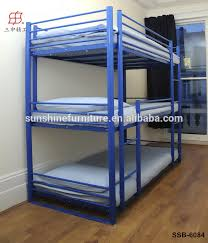 Cheap Metal Adult  Tier Triple Bunk Beds Sale For Adults Buy - Steel bunk beds