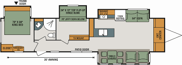 cougar floor plans kitchen travelailer floor plans incredible pictures design jayco