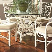 wicker dining table with glass top round wicker dining table rattan dining table base round glass top 6