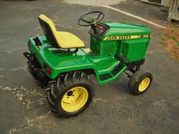 who still mows with vintage jd garden tractors page 4