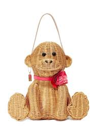 kate spade kate spade new york wicker monkey bag handbags shop