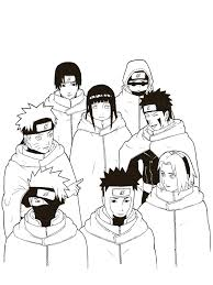 naruto coloring pages friends coloringstar