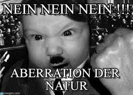 Nein Meme - nein nein nein baby adolf meme on memegen