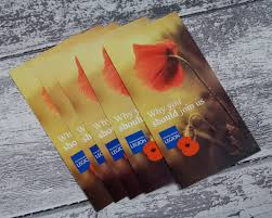 leaflet design and printing royal british legion