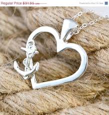 Love Anchors The Soulnautical Anchor - anchor necklace anchor pendant heart pendant love anchors the