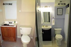 easy bathroom makeover ideas bathroom simple renovation for small bathroom before and after tips
