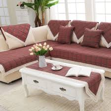 Leather Sofa Fabric Cushions by Taobao Linen Sofa Cushion Fabric Cushion Sofa Towel Sofa Set