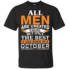 Amazon Com Isolus 2 5 Vin Diesel All Men Created Equal But Best Born In October Shirt
