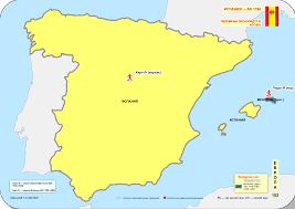 Menorca Spain Map by File Historical Map Of Spain Ad 1700 1800 1798 Svg Wikimedia